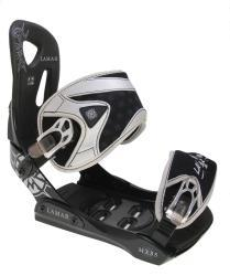 Lamar MX35 Silver Men's Snowboard Bindings (Size 5-9) - Thumbnail 1