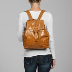 Cosmo Italian Leather Backpack-Style Handbag