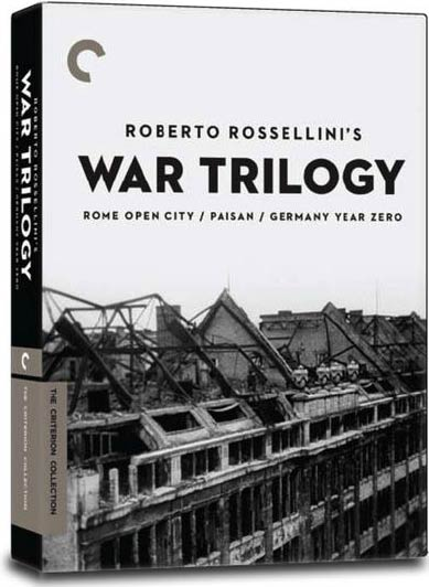 Roberto Rossellini's War Trilogy Box Set - Criterion Collection (DVD)