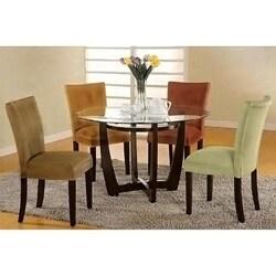 Empire Microfiber Parson Chairs Set Of 2