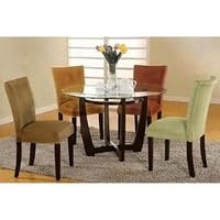 Oliver & James Bell Microfiber Dining Chair (Set of 2)