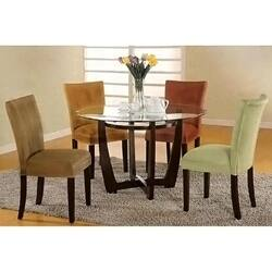Brown, Microfiber Dining Room & Kitchen Chairs For Less ...