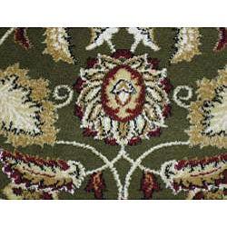 Anoosha Persian Garden Design Green Rug (2' x 3'5) - Thumbnail 1