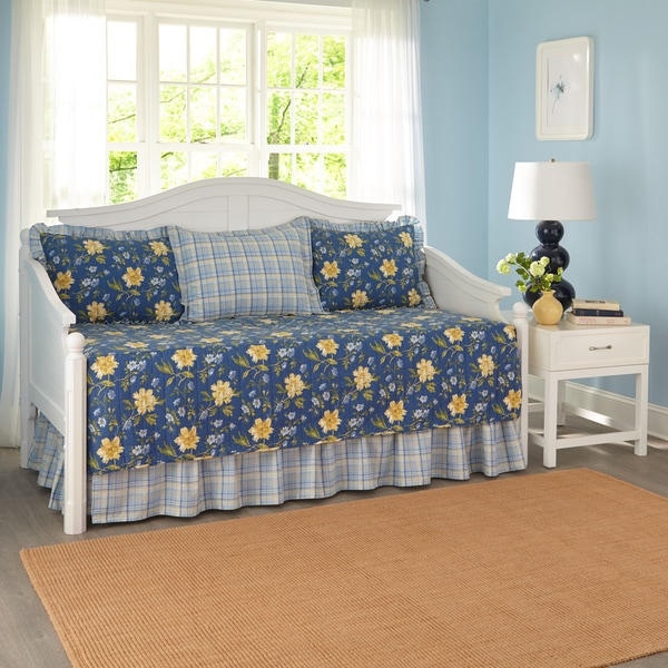 Laura Ashley Emilie 5-piece Daybed Set
