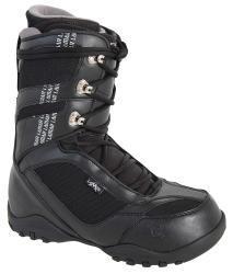 Lamar Justice 2 Men's Black Snowboard Boots - Thumbnail 2