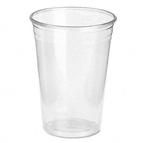 Dixie 10 oz Clear Plastic PETE Cups (Case of 500)