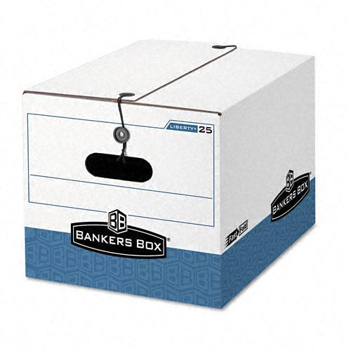 Bankers Box LIBERTY Recycled Legal/ Letter Storage Box (Pack of 4)  sc 1 st  Overstock.com & Shop Bankers Box LIBERTY Recycled Legal/ Letter Storage Box (Pack of ...