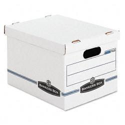 Bankers Box STOR/FILE Letter/ Legal with Lift-Off Lid (Pack of 4)