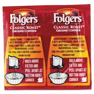 Folgers Premeasured .9-oz Regular Coffee Packs (Case of 42)