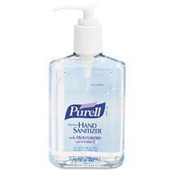 PURELL 8-oz. Pump Bottle Instant Hand Sanitizer (Case of 12)