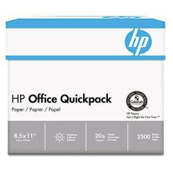 HP Quickpack Copy/Laser/Inkjet 20-pound Letter Paper (Pack of 2,500 Sheets) - Thumbnail 1