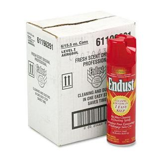 Endust Professional Cleaning and Dusting Spray, 15oz Aerosol, (Pack of 6)
