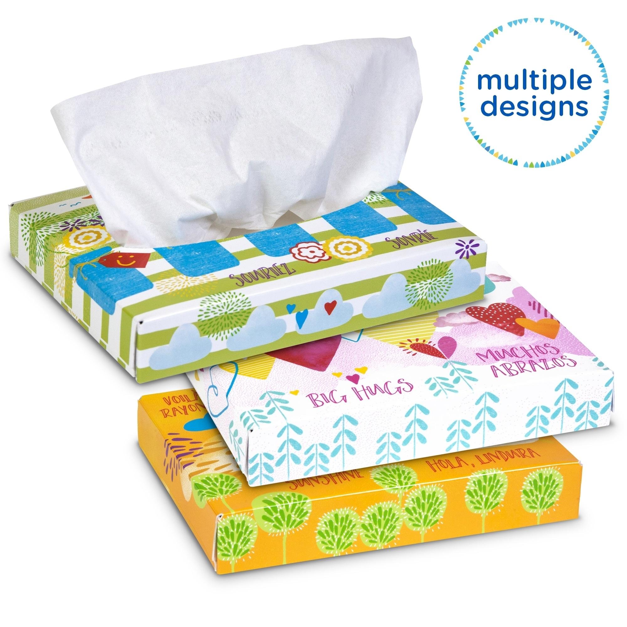 Kleenex Junior Two-Ply White Facial Tissue (Case of 48)
