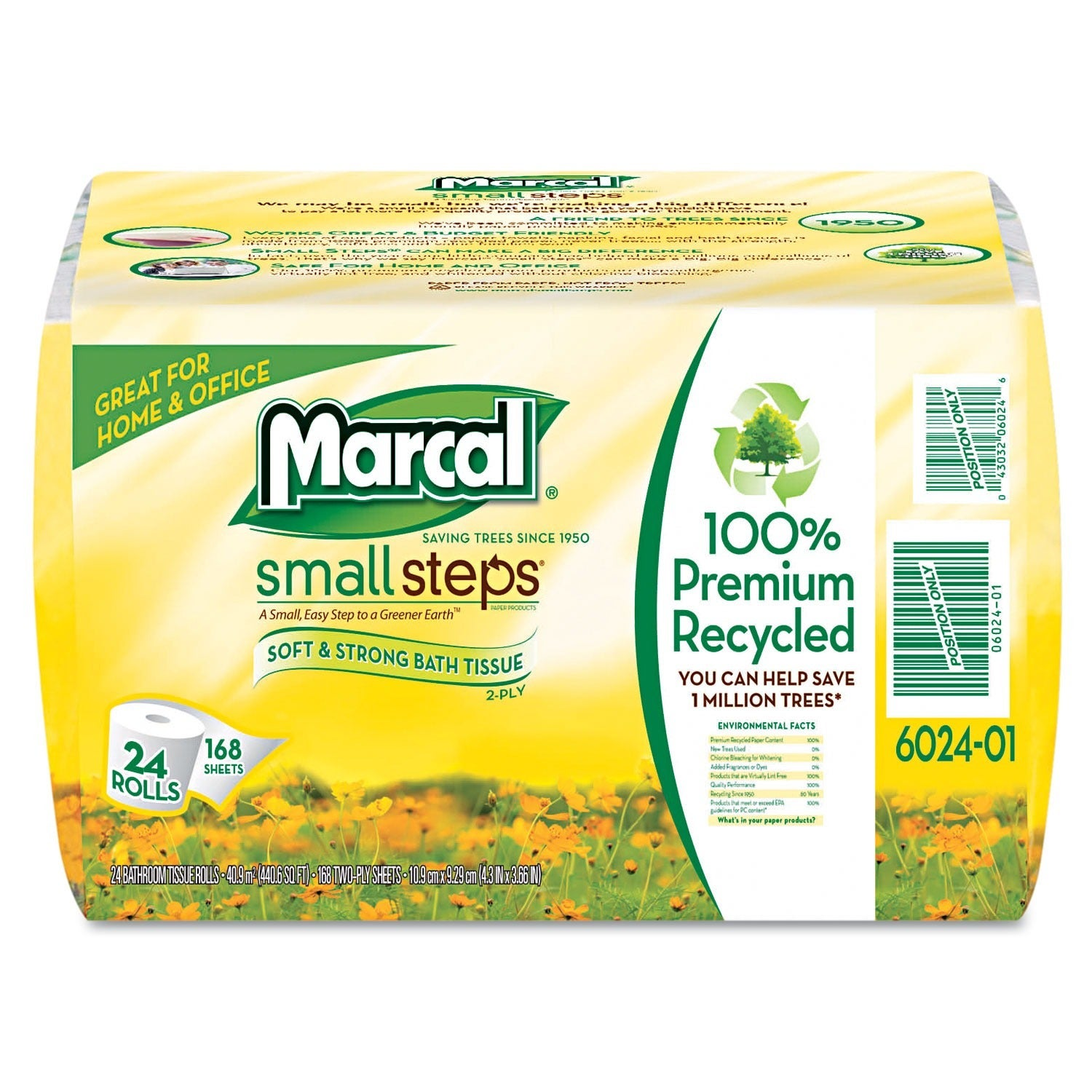 MARCAL PAPER MILLS INC. Two-Ply Recycled Bathroom Tissue ...