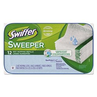 Swiffer Wet Refill Cloths (Case of 12)