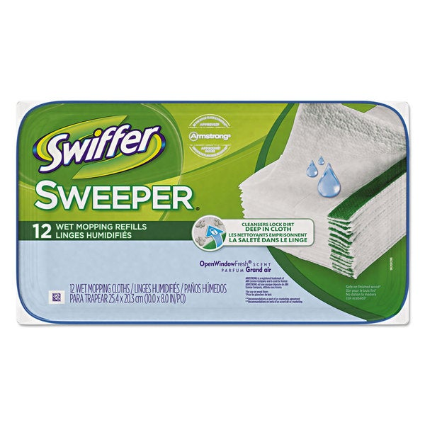 Swiffer Wet Refill Cloths (Case of 12)