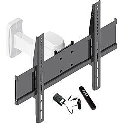 shop pyle 17 to 37 inch motorized flat panel tv wall mount free shipping today overstock. Black Bedroom Furniture Sets. Home Design Ideas