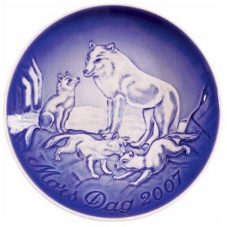 Bing & Grondahl 2007 Mother's Day Plate