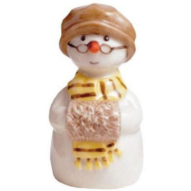 Royal Copenhagen Grandmother with Muff Snowman Figurine - Thumbnail 0