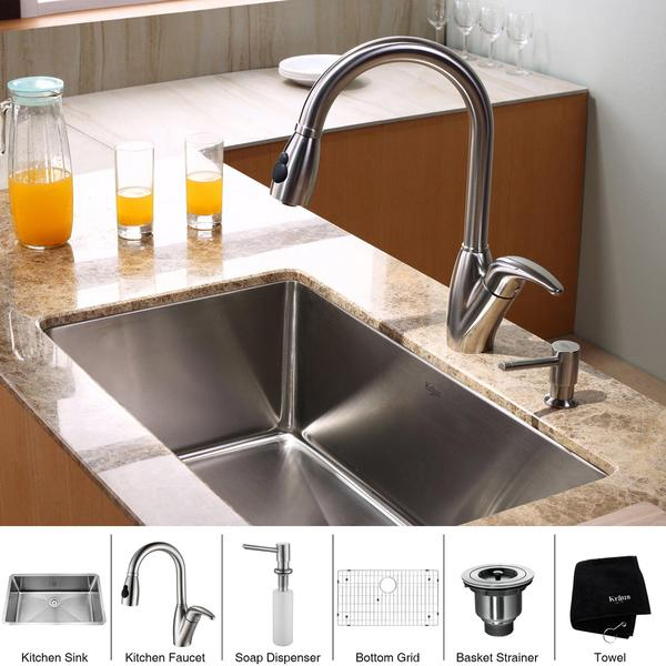 kitchen appliance package sets combo set stainless steel sink faucet online shopping