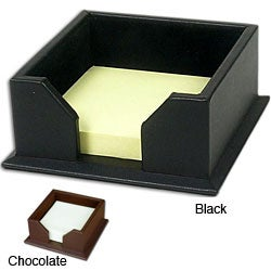 Dacasso 1000 Series Classic Leather Post-It Note Holder (2 options available)