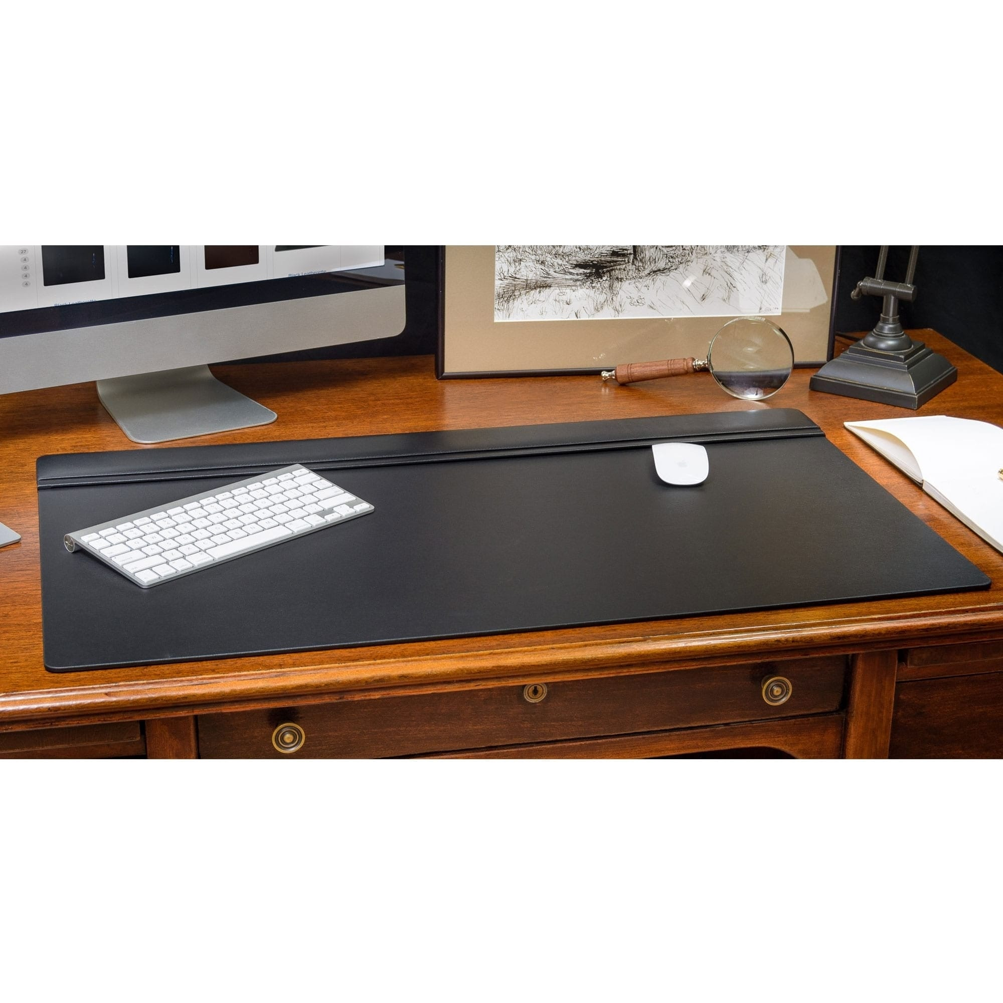 Dacasso Leather 34 X 20 Inch Top Rail Desk Pad 34 X 20 34 X 20 Overstock 4371006