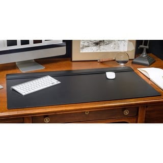 Shop Dacasso Leather 34 X 20 Inch Top Rail Desk Pad 34 X