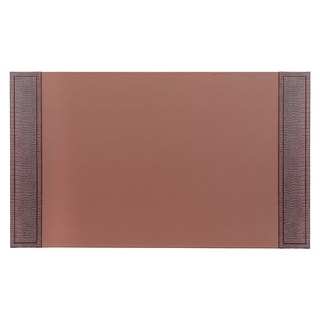 Shop Dacasso Crocodile Embossed Leather Desk Pad With Side