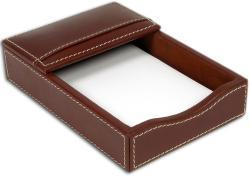 Dacasso 3200 Series 4 x 6-inch Leather Memo Holder - Thumbnail 1