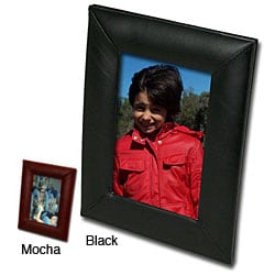 Dacasso 1000 Series Classic Leather 4x6 Photo Frame