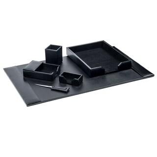 Dacasso 1400 Series 6-piece Econo-Line Leather Desk Set