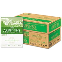 Boise ASPEN 50 Recycled Copy and Laser Paper (Case of 5,000 Sheets)
