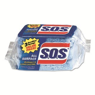 Clorox S.O.S All-Surface Scrubbing Sponge (Case of 24)