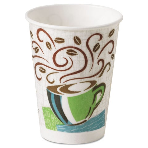 Dixie Coffee Dream Design PerfecTouch 8 oz Hot Cups (Case of 500)