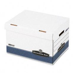 Bankers Box FastFold Flip Top Letter/ Legal File Box (Pack of 12)