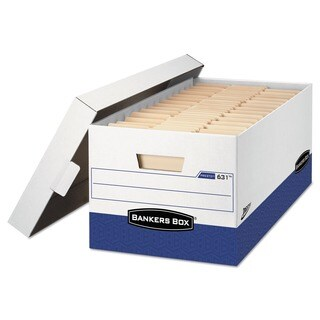 Bankers Box PRESTO Legal Storage Boxes (Pack of 12)