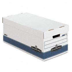 Bankers Box Letter Storage Boxes with Lift-Off Lid (Pack of 4)