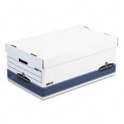 Bankers Box Legal Storage Boxes with Lift-Off Lid (Pack of 4)