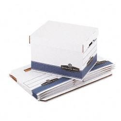Bankers Box QUICK/STOR Legal/ Letter Storage Boxes (Pack of 4)