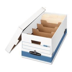 Bankers Box STOR/FILE DividerBox Letters Storage Boxes (Case of 12)