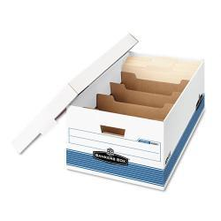 Bankers Box STOR/FILE DividerBox Legal Storage Boxes (Case of 12)