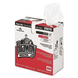 Brawny Industrial Heavy Duty Cloth Shop Towels (Box of 100)