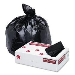 Jaguar Plastics 1.7 mil 60 Gallon Commercial Can Liners (Case of 100)