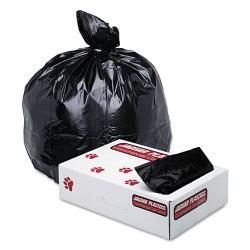 Jaguar Plastics 45-Gallon Black Industrial-Strength Commercial Can Liners (Case of 100)