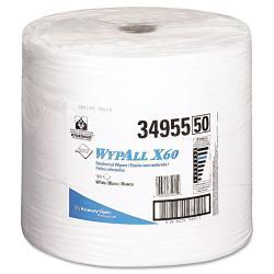 WYPALL X60 Jumbo Roll White Teri Reinforced Wipers