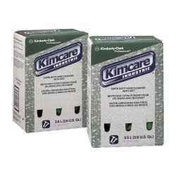 KimCare Industrie Herbal Scent 3.5 Liter Bag Super Duty Hand Cleanser with Grit (Pack of 2)
