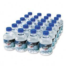 Office Snax 8 oz Bottled Spring Water (Case of 24)