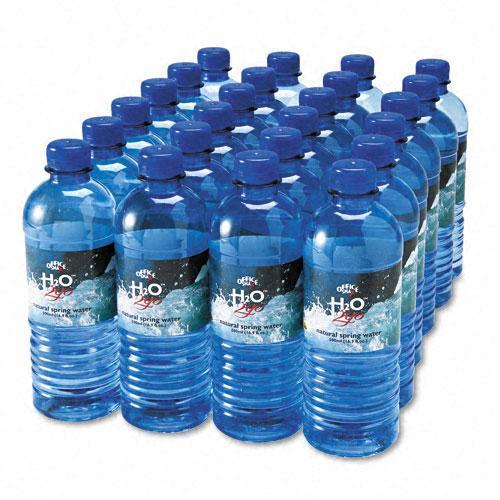 Office Snax Half-Liter Bottled Spring Water (Case of 24)