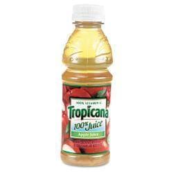 Tropicana 100-percent Apple Juice 10 oz Bottle (Case of 24)