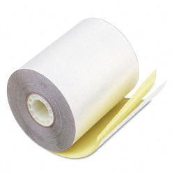 PM Perfection White and Canary Teller Window and Financial Rolls (Case of 60)